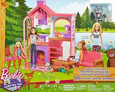 Barbie Sisters Camping Fun Cabin DXY20 - BRAND NEW!!