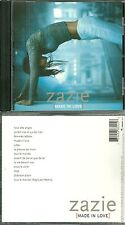 CD - ZAZIE : MADE IN LOVE / COMME NEUF