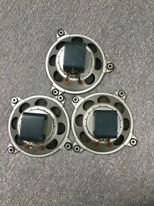 Isophon P13 drei Breitbandlautsprecher / Radiolautsprecher Alnico