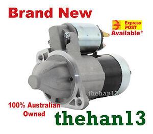 Starter Motor fit Hyundai FX SX SFX Coupe engine G4GF 2.0L Petrol Manual 96-02