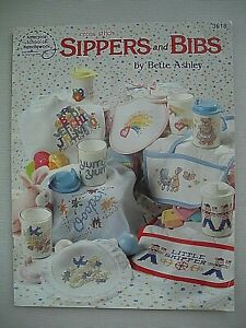 Sippers and Bibs - Bette Ashley - Baby Cross Stitch Pattern Book