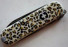 VICTORINOX CLASSIC LEOPARD  SWISS ARMY KNIFE MULTI-FUNCTION KEY CHAIN