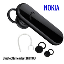 Universal Wireless Bluetooth Headset Nokia BH-110U Handsfree Original Black
