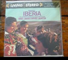 Classic Records LP 1rst Edition Chi. Symphony Iberia (Reiner) 180G NEW lsc-2222