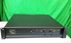 QSC MX1500A Power Amplifier