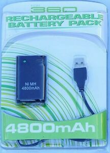 4800mAh Replacement Battery Pack for XBOX 360 Controller