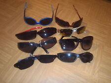 8 damen/herren sonnenbrillen  - deffekt
