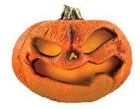 LED Flickering Rotting Pumpkin Mister Misting Halloween Flame Jack-O-Lantern