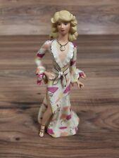 "Vintage Lenox Disco Darling Handcrafted 8"" Porcelain Woman Figurine"
