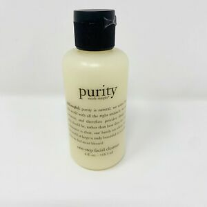 PHILOSOPHY PURITY MADE SIMPLE ONE-STEP FACIAL CLEANSER - 4 Fl. Oz.
