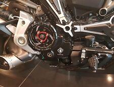 Ducati MULTISTRADA 1200 2015+ Ducabike clean Clutch Cover Black Spring Retainer
