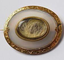 Diamanten & Edelsteine Achatbrosche Brosche Mit Achat Agate In Aus 925 Silber Silver Handarbeit Platte