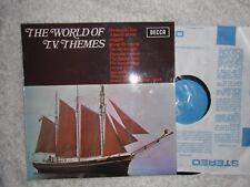 WORLD OF TV THEMES LP ONEDIN LINE FORSYTHE SAGA ETC 1972 N/M