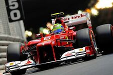 Ferrari F1 Formula One Automotive Car Wall Art Giclee Canvas Print Photo (215)