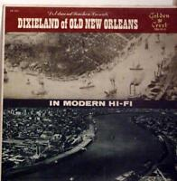 JOHNNY WIGGS BAND dixieland of old new orleans LP VG CR 3021 Vinyl 1957 Record