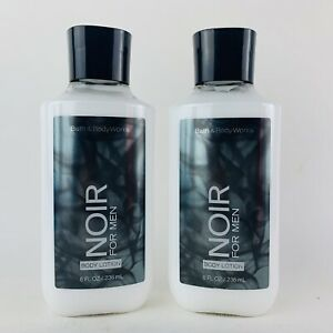 2-Pack Bath & Body Works NOIR Body Lotion For Men 8 fl.oz 236 ml