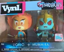 FUNKO POP Vnyl Thunder Cats Classic Lion O And Mumm-ra 2017 Fall Convention