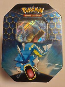 Pokémon TCG: Sun & Moon Hidden Fates - Gyarados GX Collector's Tin Sealed