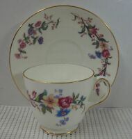 Wedgwood China DEVON SPRAYS Cup & Saucer Set BEST! Multiple Available