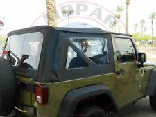 JEEP WRANGLER JK 2 Door Black Top Rear Windows Replacement Kit Tinted OEM MOPAR