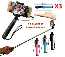 BRAND NEW MONOPOD SELFIE STICK WIRED ANDRIOD PHONES