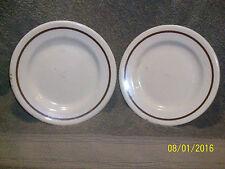 Sterling Vitrified China Restaurantware Salad Plates(2) in Desert Tan