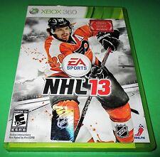NHL 13 Microsoft Xbox 360 *Factory Sealed! *Free Shipping!