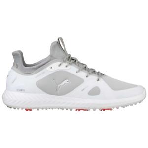 Puma PWRAdapt Golf Shoes Puma White/Gray 189891 01 NEW 10480