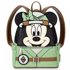 Minnie Mouse Animal Kingdom Mini Backpack by Loungefly – Disney's Safari Minnie