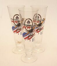 World Cup USA 1994 Memorabilia Pilsner Glasses x 3 Their Pils FREE Shipping