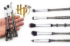 5 PZ Harry Potter Mago Bacchetta Magica Manico in metallo collezione di trucco Brush Set Regalo