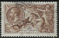SG450.  2s6d.Chocolate-Brown. Fine Used.  Ref:07136