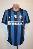Inter Milan Football Shirt Jersey Camiseta Soccer 2009 2010 Home Size M Nike Men