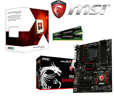 Aufrüst Bundle AMD FX-6300 6x 4,10 GHz - MSI 970 GAMING MB   8 GB-RAM  NEU