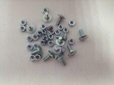 set 10 Bulloni bullone zincati con dado 8 x 40 mm F576