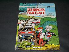 FOURNIER SPIROU ET FANTASIO N°29 DES HARICOTS PARTOUT EDITION ORIGINALE 1980
