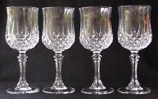 "4 D'ARQUES /DURAND LONGCHAMP CRYSTAL WINE GLASSES 6.5""T"