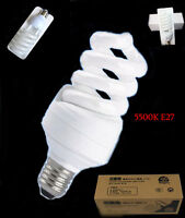 Photography Daylight Video Studio Continuous CFL light Lamp Bulbs 5500K 45W E27
