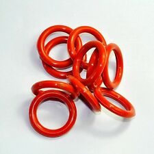 NEW 23mm Tube Dampers Silicone Ring fit 6V6GT 6SN7 6SL7 GZ34 100pc for tube amps