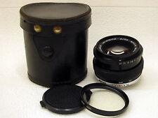 OLYMPUS OM-SYSTEM ZUIKO AUTO-S f1,8/50mm Japan 35mm SLR & DSLR Lens EXCELLENT