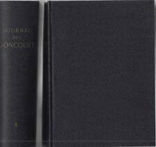 JOURNAL D'Edmond et Jules de GONCOURT, 2 volumes, Editions FASQUELLE-FLAMMARION