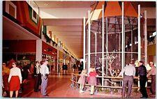 Phoenix, Arizona Postcard Thomas Mall Shopping Center Tropical Bird Cages c1960s