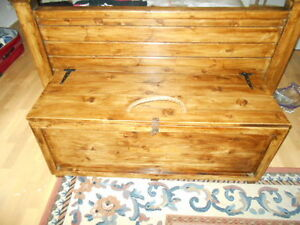 The Brittany Ottoman storage/coffee table