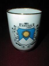 Ottlinger Sevelen AROSA SWITZERLAND Swiss Suisse Porcelain Souvenir Tumbler