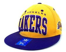 LOS ANGELES LAKERS ADIDAS FITTED CAP, HAT