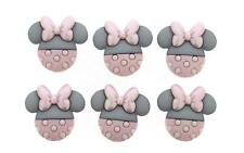 Childrens Buttons - Disney Baby Minnie - Novelty Buttons Cake Decorations