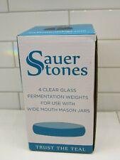 Fermentology Fermentation Weights and Smasher Combo Sauer Stones Glass Ferm...