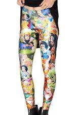 Women's 3D Punk Pattern Leggings Skinny Stretchy Tight Jeggings Pencil Pants New