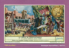 CHROMO LIEBIG : TURQUIE, LE CANON D'ORBAN, LA CHUTE DE CONSTANTINOPLE -M3