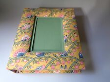 PIERRE DEUX VINTAGE Fabric cover French Country Yellow Provence Photo Box France